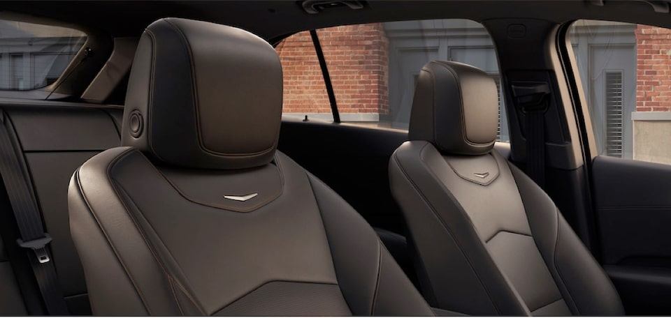 2020 Cadillac XT4 Compact SUV Front Passenger Seat and Driver Seat