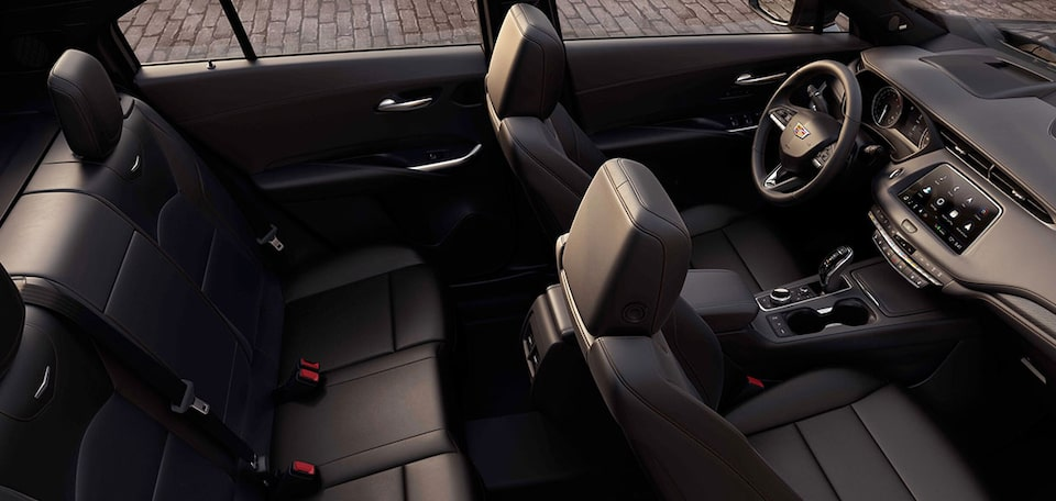 2020 Cadillac XT4 Compact SUV Back Seat Space