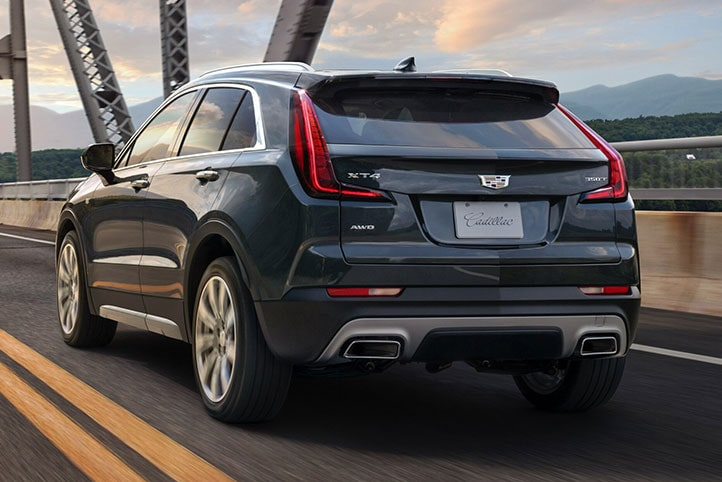 2020 Cadillac XT4 Compact SUV Exterior Style